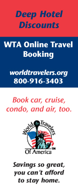 WTA Online Travel Booking Service