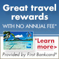 WTA First Bankcard Credit Card Banner Ad