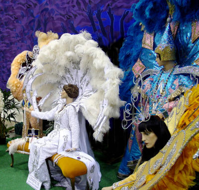 Ark-La-Tex Mardi Gras Museum displays some of the most spectacular costumes